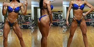 Fitness Bikini şampiyonundan Türk futbolculara eleştiri!