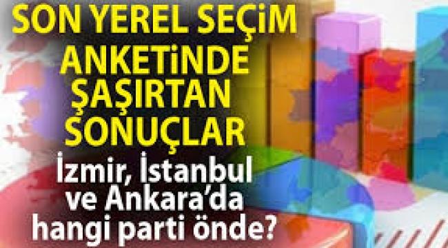 AREA'nın son anketi: İstanbul ve Ankara'da CHP adayları önde