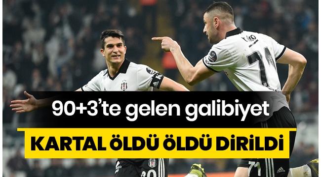 Beşiktaşi Atiker Konyaspor'u 3-2 mağlup etti