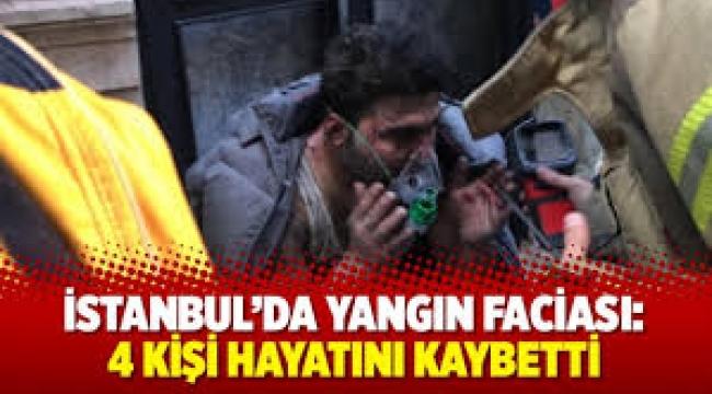 Beyoğlu'nda Yangın Faciası! 4 Kişi Hayatını Kaybetti