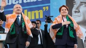 CHP ve İYİ Parti'den bir ilk: Akşener ve Kılıçdaroğlu'ndan ortak miting