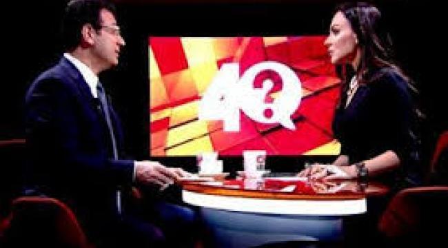 CNN Türk'te Ekrem İmamoğlu'nun konuşması yarıda kesildi!