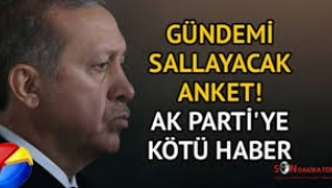 Son anketten AK Parti ve MHP'ye kötü haber
