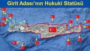 Ümit Yalım: Girit'in dörtte üçü ve etrafındaki 14 adacık Türkiye'ye ait