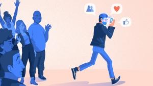 Vezirin rezil, rezilin vezir olduğu yer: Sosyal medya