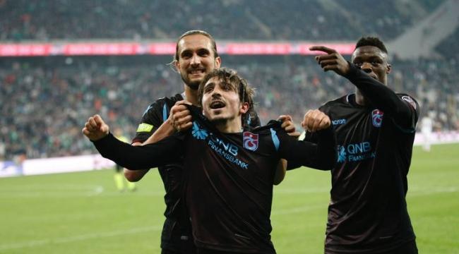 Bursaspor - Trabzonspor maç sonucu: 0-1