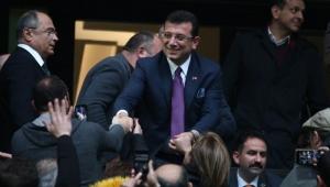 Ekrem İmamoğlu Galatasaray maçı için TT Arena'da