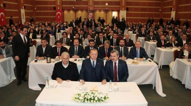 Erdoğan'dan İBB meclis üyeleri ile dikkat çeken toplantı