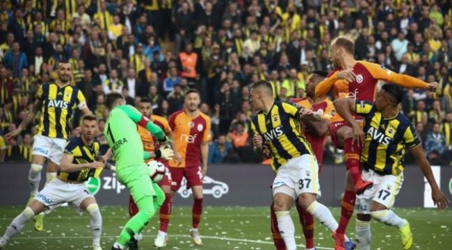 Fenerbahçe 1-1 Galatasaray Derbi berabere bitti