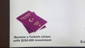 """İLAN """"250 bin dolar yatırımla Türk vatandaşı olun"""""""