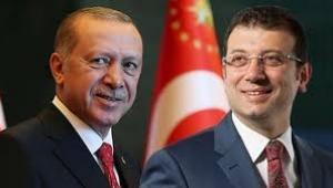 İmamoğlu, Erdoğan'ı havalimanında karşıladı
