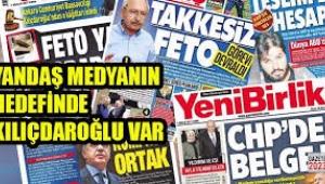 Kılıçdaroğlu'na saldırıyı hangi gazeteler destekledi