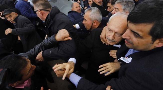 Kılıçdaroğlu olay sırasında sopalar dağıtılıyordu