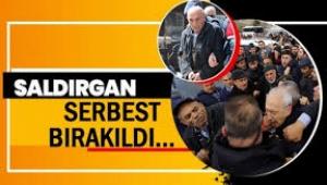 Kılıçdaroğluna yumruk atan serbest