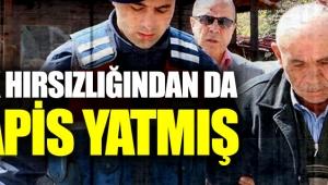 Osman Sarıgün inek hırsızlığından da hapis yatmış