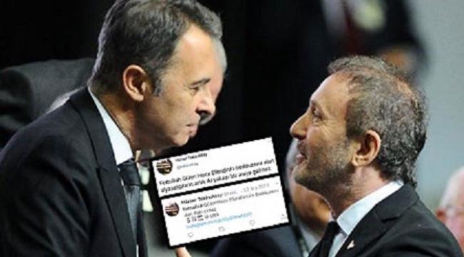 Beşiktaş'taki yönetim kavgasına FETÖ karıştı