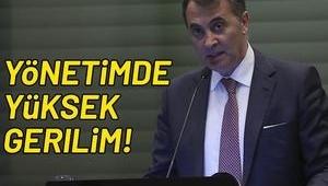 Beşiktaş Yönetim Kurulu'nda yüksek gerilim