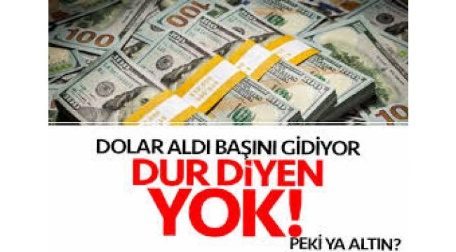 Dolar yine uçtu