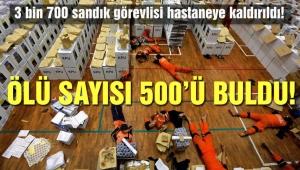 Endonezya'daki katliam gibi seçimde ölü sayısı 500 oldu!