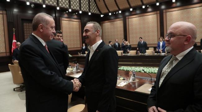 Erdoğan'dan Şahan ve Yılmaz Erdoğan'a