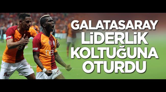 Galatasaray Beşiktaşı 2-0 yendi Lider oldu