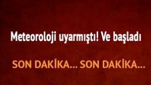 İstanbul güne fırtınayla uyandı!