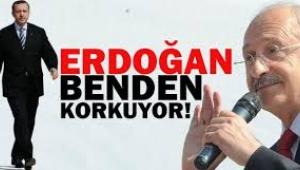 Kılıçdaroğlu: Erdoğan benden korkuyor
