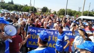 KOÇ Holding'e Tüpraş şoku: İşçiler kendilerini fabrikaya kapattı