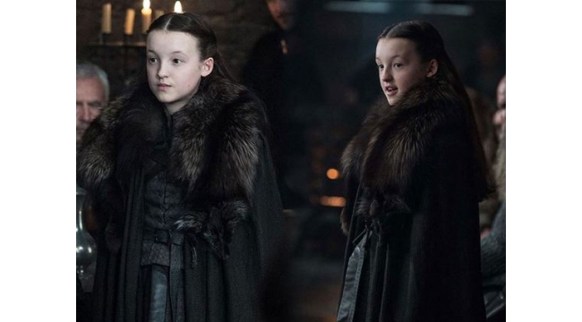 Rol aldığı Game of Thrones'u izlemek için 18 yaşını bekliyor!