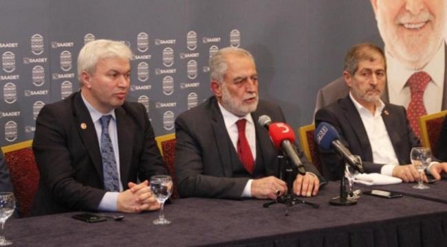 Saadet Partisi'nin İstanbul adayı İmamoğlu lehine çekiliyor