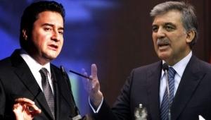 Abdullah Gül'ün desteklediği Ali Babacan'ın yeni partisi yolda!