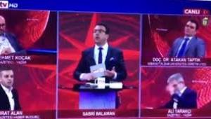 Akit TV'de canlı yayında skandal sözler