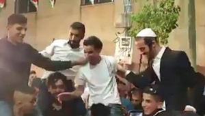 Araplarla Yahudiler böyle dans etti