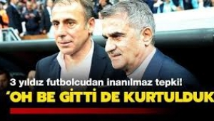 Başakşehir'de bazı oyuncular Avcı'nın gidişinden memnun!