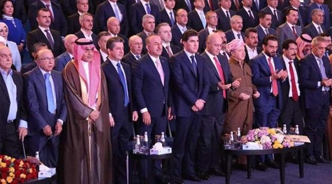 Çavuşoğlu'dan 'Kürdistan şehitleri' için saygı duruşu