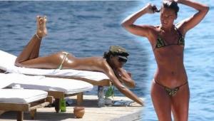 Eda Taşpınar'dan beyaz bikinili paylaşım...