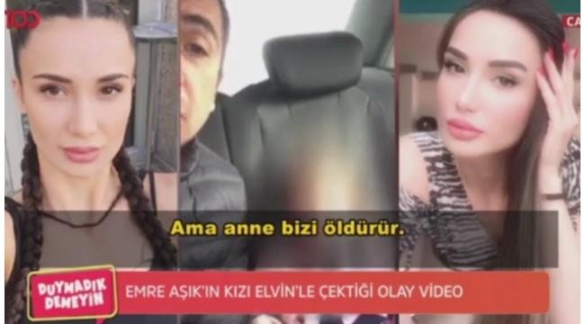 Emre Aşık ve 3 yaşındaki kızının videosundaki dialog kan dondurdu