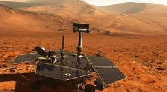 Mars'ta güçlü bir patlamanın izine rastlandı