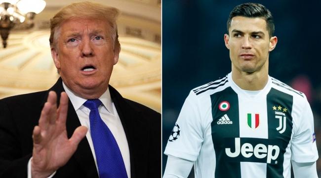 Trump, ücret dengesizliğiyle ilgili Ronaldo'yu işaret etti