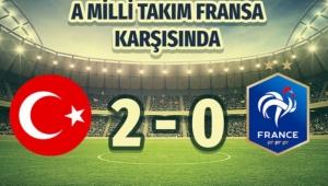 TÜRKİYE 2-0 FRANSA...