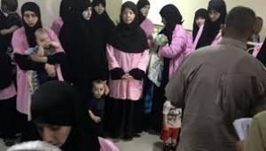 800 Türk kadın Irak'ta tutuluyor