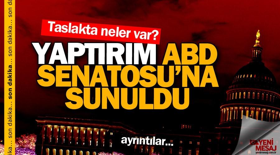 ABD'den Türkiye'ye karşı düşmanca hamle!...