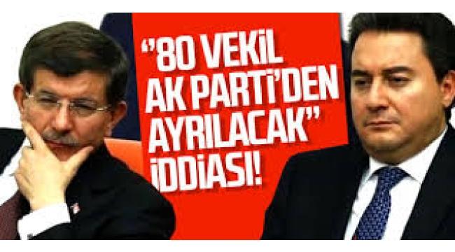 Babacan'ın partisine AKP'den kaç milletvekili geçecek?