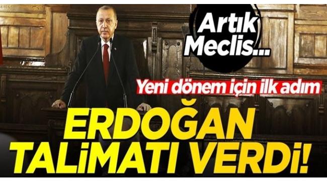 Erdoğan AKP'li meclis üyelerine CHP projelerini engelleyin talimatı verdi