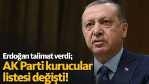 Erdoğan talimat verdi... AKP'nin kurucular listesinden 14 kişinin ismi çıkartıldı