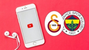 Fenerbahçe ve Galatasaray'ın YouTube savaşı! 1 milyon abone...
