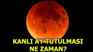 Kanlı Ay tutulması ne zaman? Türkiye'den görülecek mi?...