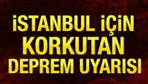 Marmara'da uzmanlardan korkutan deprem uyarısı