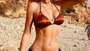 Şeyma Subaşı'dan bikinili poz