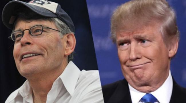 Stephen King: Trump'ın başkanlığı romanlarımdan daha korkunç